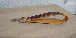 Kľúčenky - Kľúčenka Mandala Orange - 12637769_