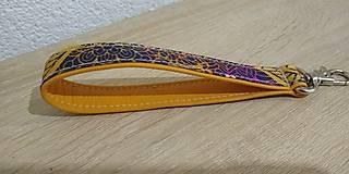 Kľúčenky - Kľúčenka Mandala Orange - 12637781_