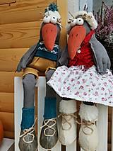 Dekorácie - Vrany v zime - 12640655_