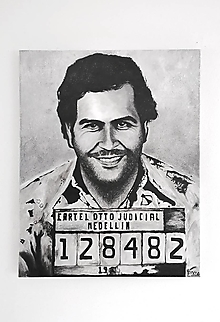 Obrazy - Obraz - Pablo Escobar - 12646655_