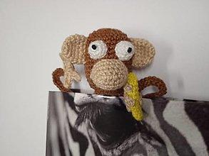 Papiernictvo - Záložka opička - 12647736_