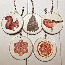 Dekorácie - Ozdoby na vianočný stromček - tradičné Vianoce - 12646977_