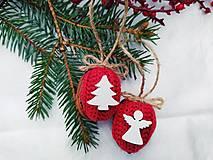 Dekorácie - Vianočné oriešky - 12647594_
