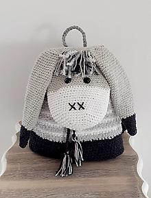 Detské tašky - Batoh - somárik - 12648366_