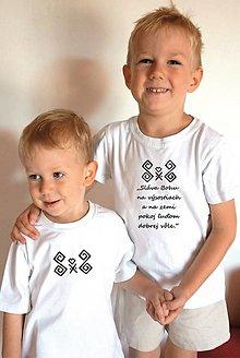 Tričká - vianočné kresťanské tričko 1 - 12647802_