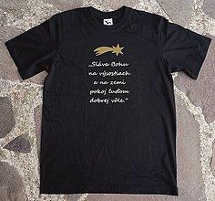 Tričká - vianočné kresťanské tričko 3 - 12647829_