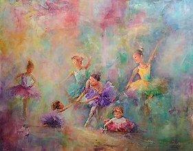 Obrazy - malé baletky... - 12646666_