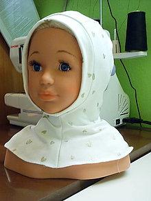 Detské čiapky - kukla jednovrstvová - 12646024_