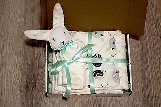 Textil - Darčekový set biely - 12644460_