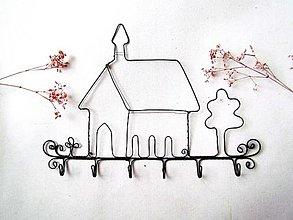 Nábytok - vešiak - kostolík - 12644885_