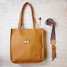 Veľké tašky - Kožená Kabelka Walking no.45 - 12645868_