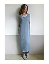 Šaty - maxi šaty vlnené - 12644614_