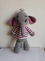 Hračky - Sloník Dumbo (Fialová) - 12654474_