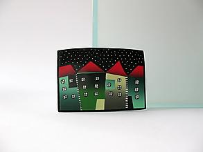 Odznaky/Brošne - ,,Zelené domčeky,, - 12653391_