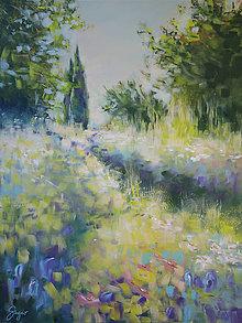 """Obrazy - obraz """"divoké talianske záhrady"""" - 12649547_"""
