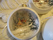 Dekorácie - Vianočné ozdoby - 12652420_