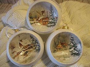 Dekorácie - Vianočné ozdoby - 12652424_