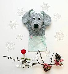 Hračky - Maňuška psíček - 12653735_