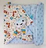 Detská deka - Modrá od Líščieho údolia
