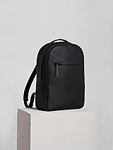 - Leather backpack Black - 12649277_