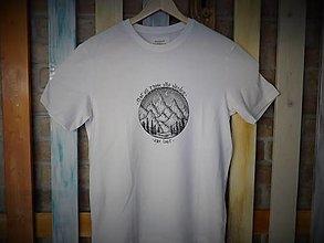 Tričká - Biele tričko Wanderer - 12651578_