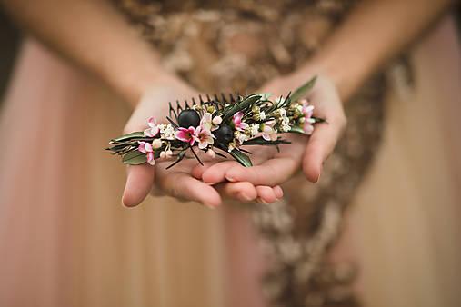 """Kvetinový hrebienok """"hľadám šťastie"""""""