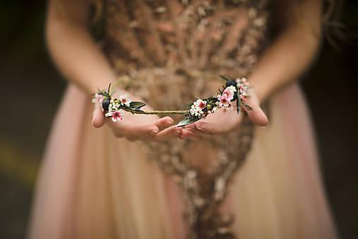"""Kvetinový venček """"hľadám šťastie"""""""