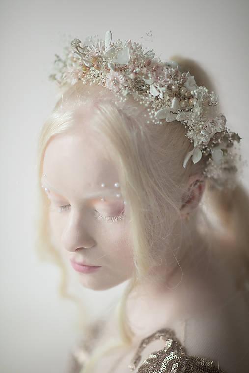 """Svadobný venček """"čaro bieleho rána"""""""