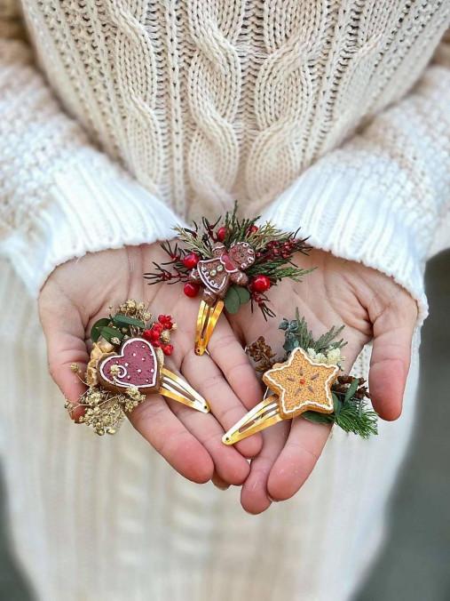 """Vianočné pukačky """"vôňa medovníkov"""""""