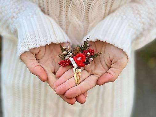 """Vianočné pukačka """"červená rukavička"""""""