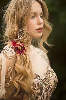 """Ozdoby do vlasov - Gumička do vlasov """"sladká jeseň"""" - 12652336_"""