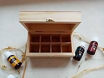 Krabičky - Krabička na esenciálne oleje - Srdce - 12649427_