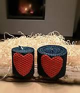Dekorácie - Sviečky z včelieho vosku  - 12649970_