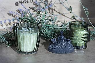 Svietidlá a sviečky - Zero Waste - VIANOČNÁ DOVOLENKA - sójová vonná sviečka - LIMITOVANÁ EDÍCIA - 12650352_
