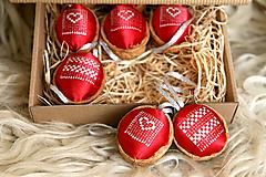 Dekorácie - Oriešky Love Mix - kolekcia 9 kusov - 12652466_
