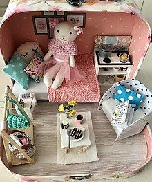 Hračky - Čarovný kufrík s myškou-SLUZI AKO UKAZKA - 12650289_