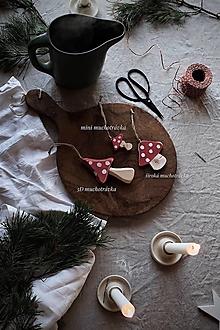 Dekorácie - Široká muchotrávka - 12658103_