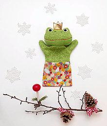 Hračky - Maňuška Žabí princ - 12660733_