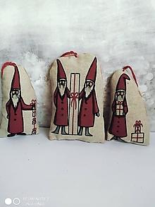 Dekorácie - Vianoční škriatkovia - Mikulášikovia - 12656213_