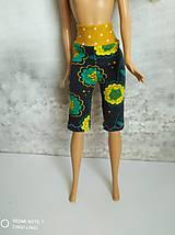 Hračky - Kvietkové kraťasy pre Barbie - 12657461_