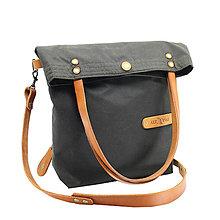 Veľké tašky - Dámská taška MARILYN GREEN HONEY - 12656541_