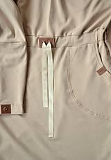 Šaty - Športové šaty Contrast (beige) - 12658260_