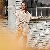 Šaty - Športové šaty Contrast (beige) - 12658261_