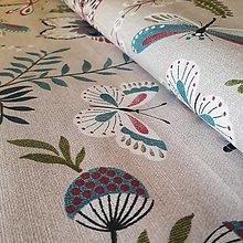 Textil - Dekoračná látka - 12658345_