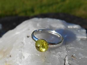 Prstene - green olivina-OLIVIN-prsteň-striebro-ring - 12666366_