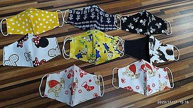 Rúška - Nové vzory detských rúšok - 12661529_