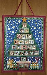 Dekorácie - Adventný kalendár STROMČEK V KVETINÁČI - 12666078_