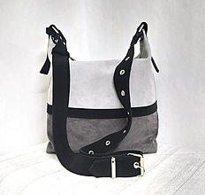Kabelky - Kožená taška SUZI-3 color - 12661794_