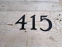 Tabuľky - Popisné číslo: Samostatná číslica Vintage - 12665767_