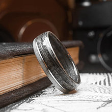 Prstene - Starý buk / Parožie - 12666594_